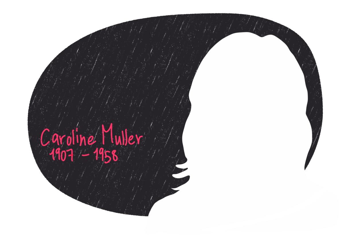 Portrait de Caroline Muller, femme de la Résistance