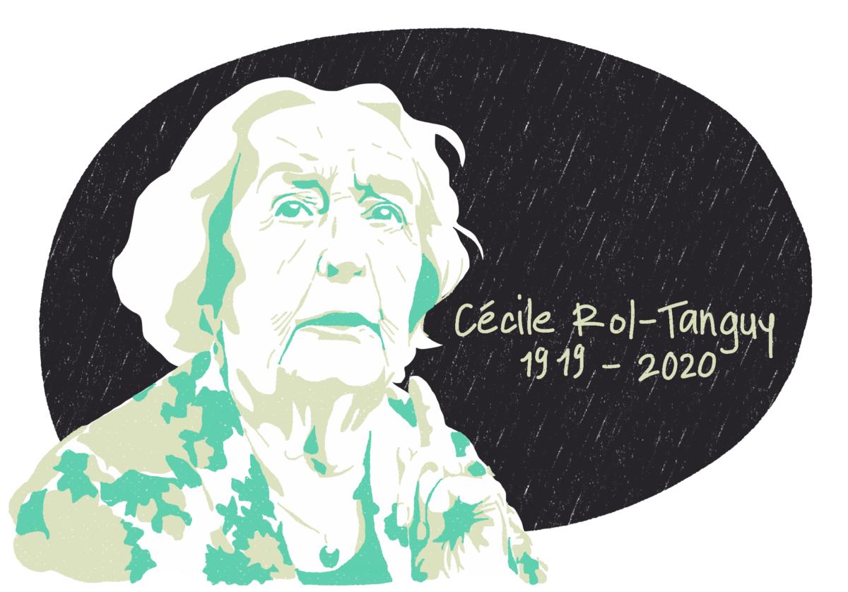 Portrait de Cécile Rol-Tanguy, femme de la Résistance