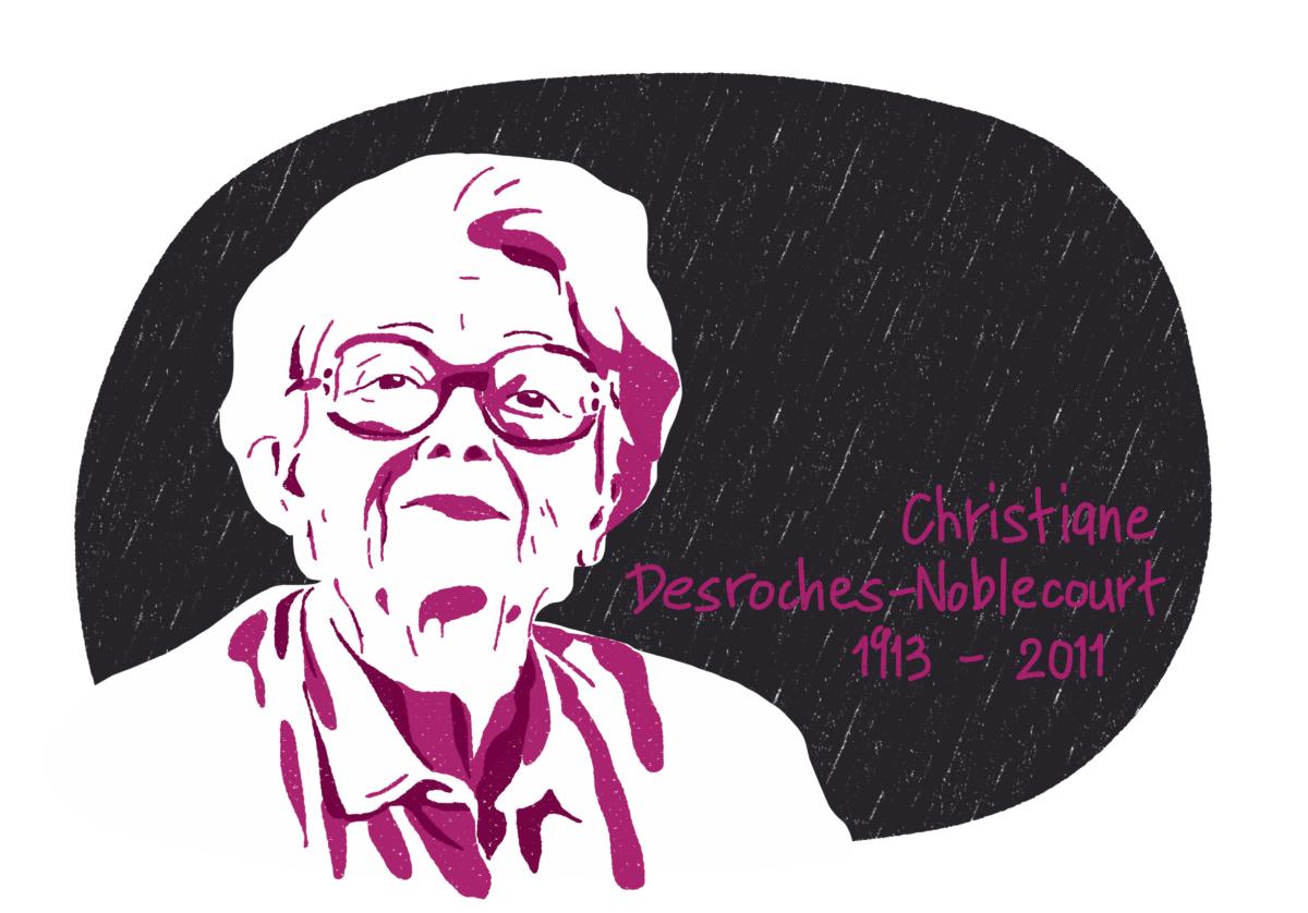 Portrait de Christiane Desroches-Noblecourt, femme de la Résistance