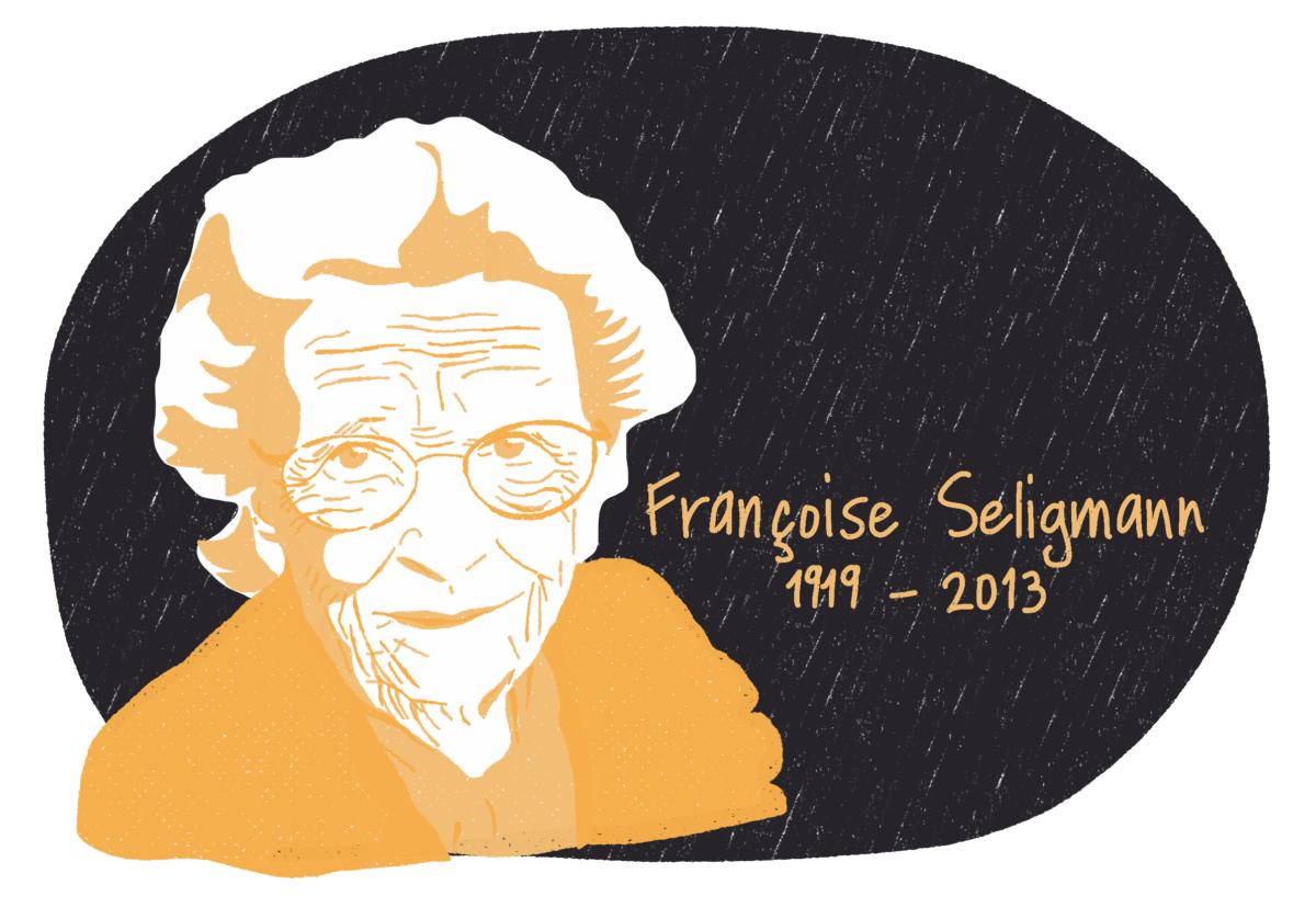 Portrait de Françoise Seligmann, femme de la Résistance