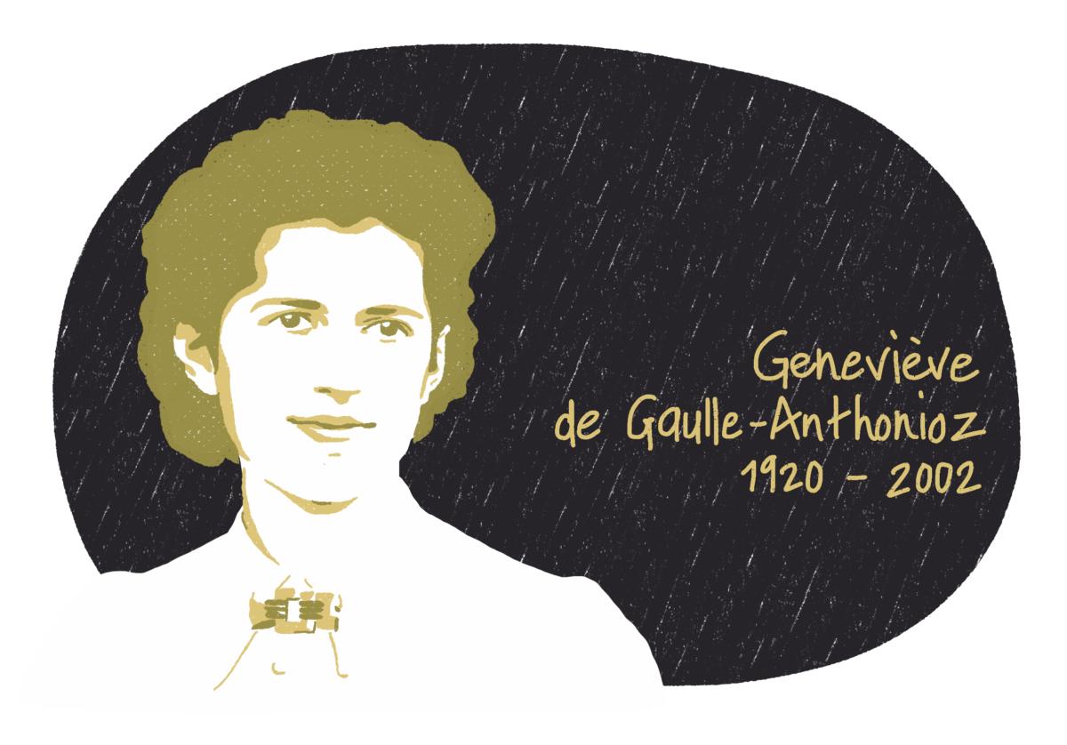 Portrait de Geneviève de Gaulle-Anthonioz, femme de la Résistance