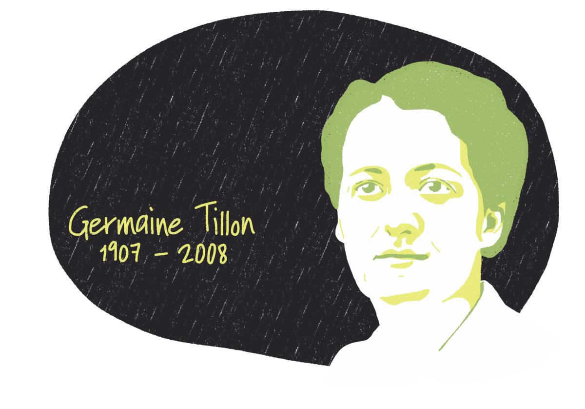 Portrait de Germaine Tillon, femme de la Résistance