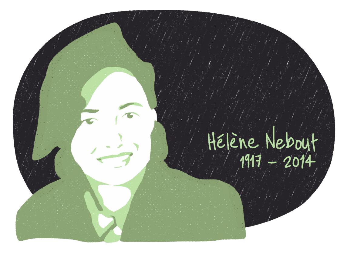 Portrait de Hélène Nebout, femme de la Résistance