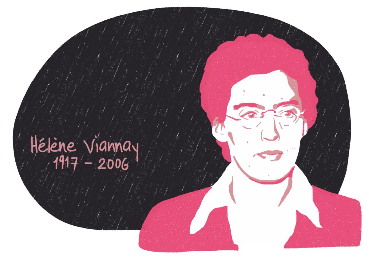 Portrait de Hélène Viannay, femme de la Résistance
