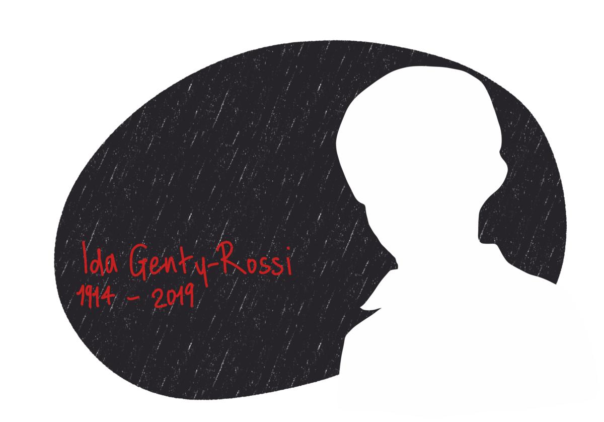 Portrait de Ida Genty-Rossi, femme de la Résistance