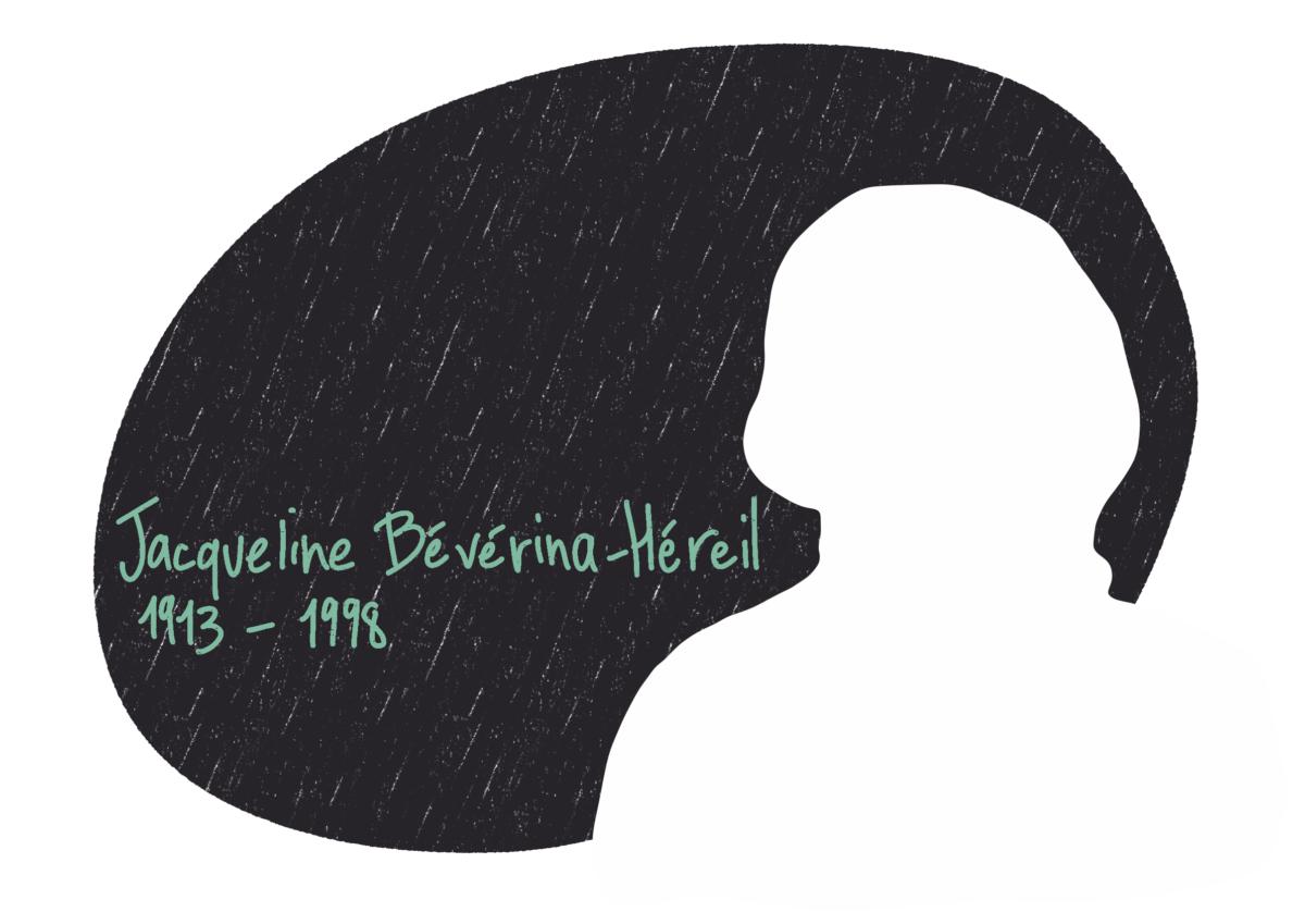 Portrait de Jacqueline Bévérina-Héreil, femme de la Résistance
