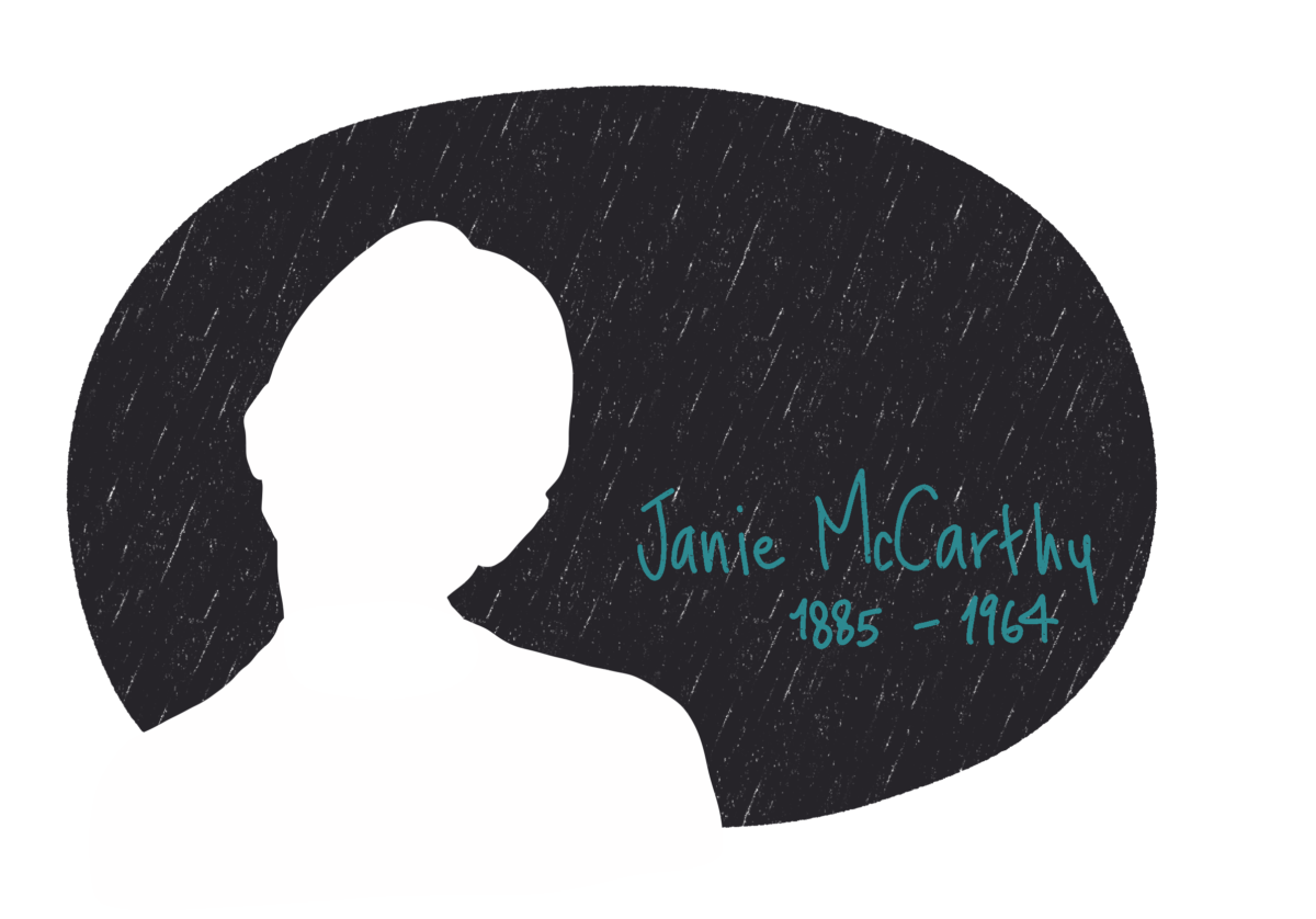 Portrait de Janie McCarthy, femme de la Résistance