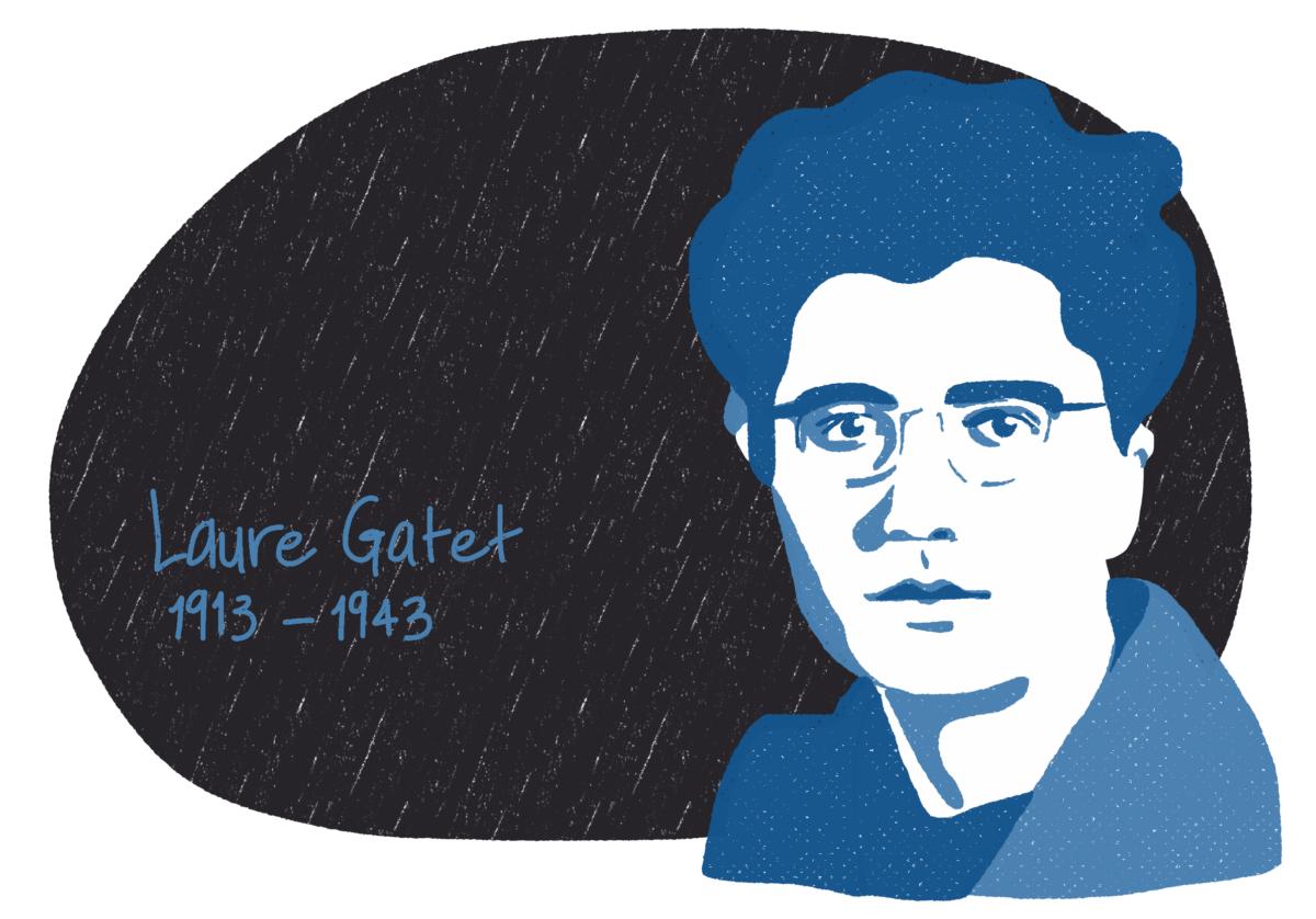 Portrait de Laure Gatet, femme de la Résistance