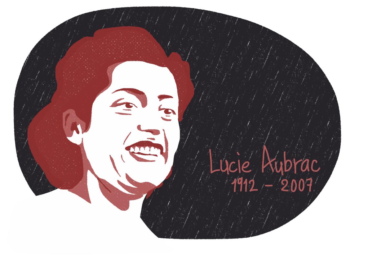 Portrait de Lucie Aubrac, femme de la Résistance