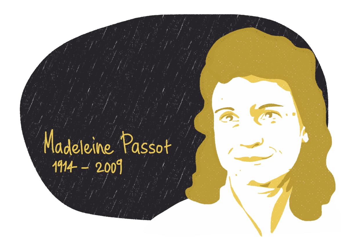 Portrait de Madeleine Passot, femme de la Résistance