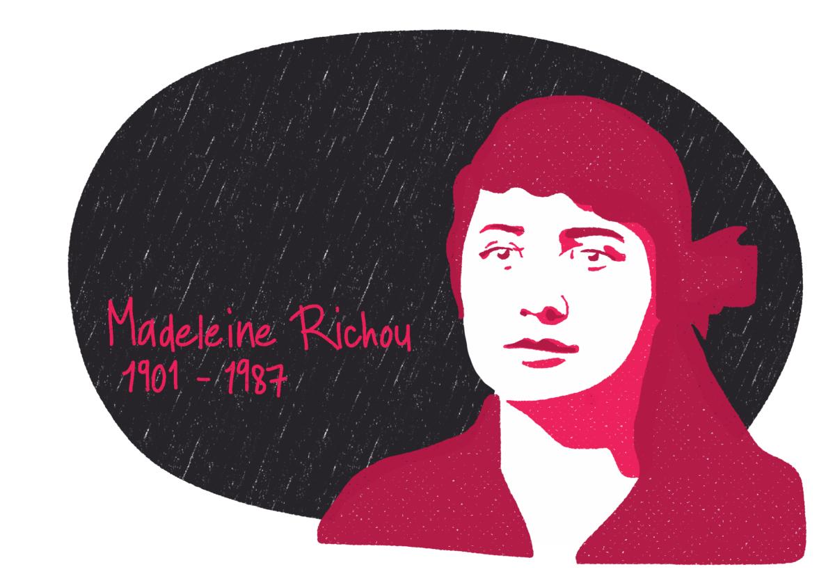Portrait de Madeleine Richou, femme de la Résistance