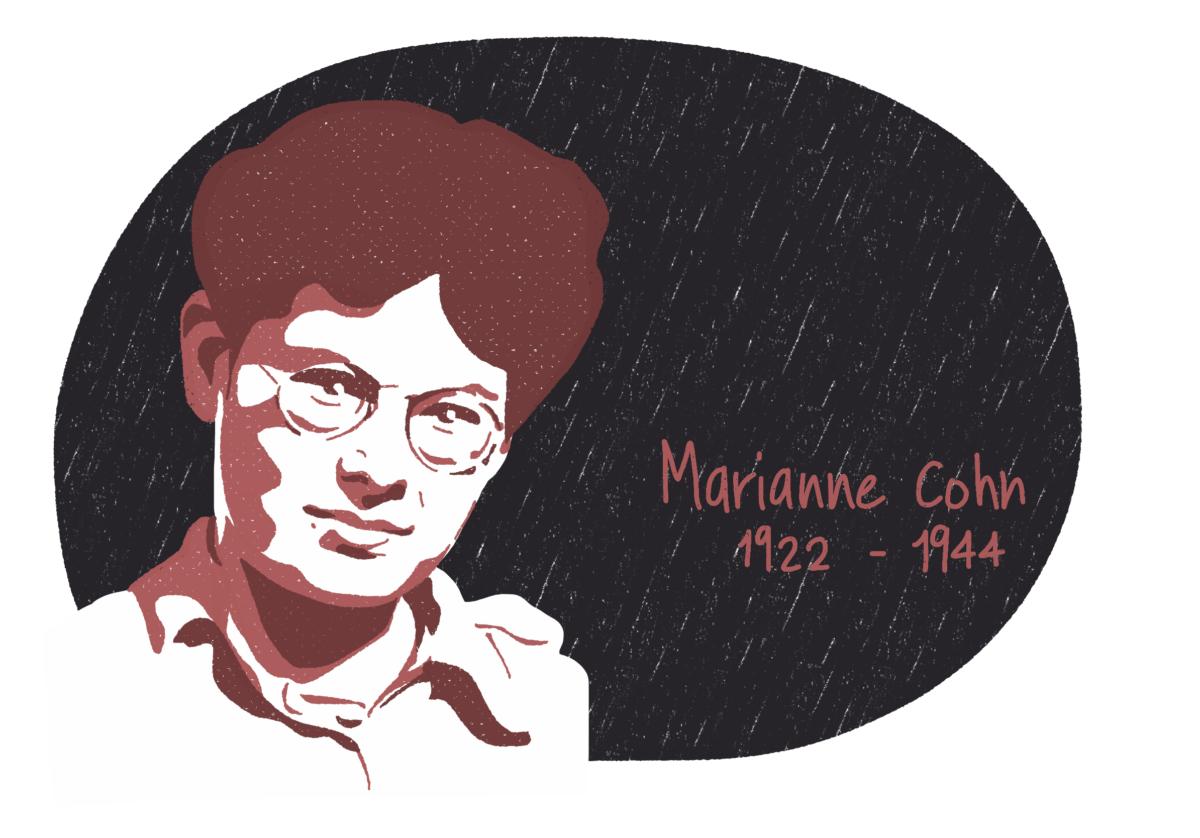 Portrait de Marianne Cohn, femme de la Résistance