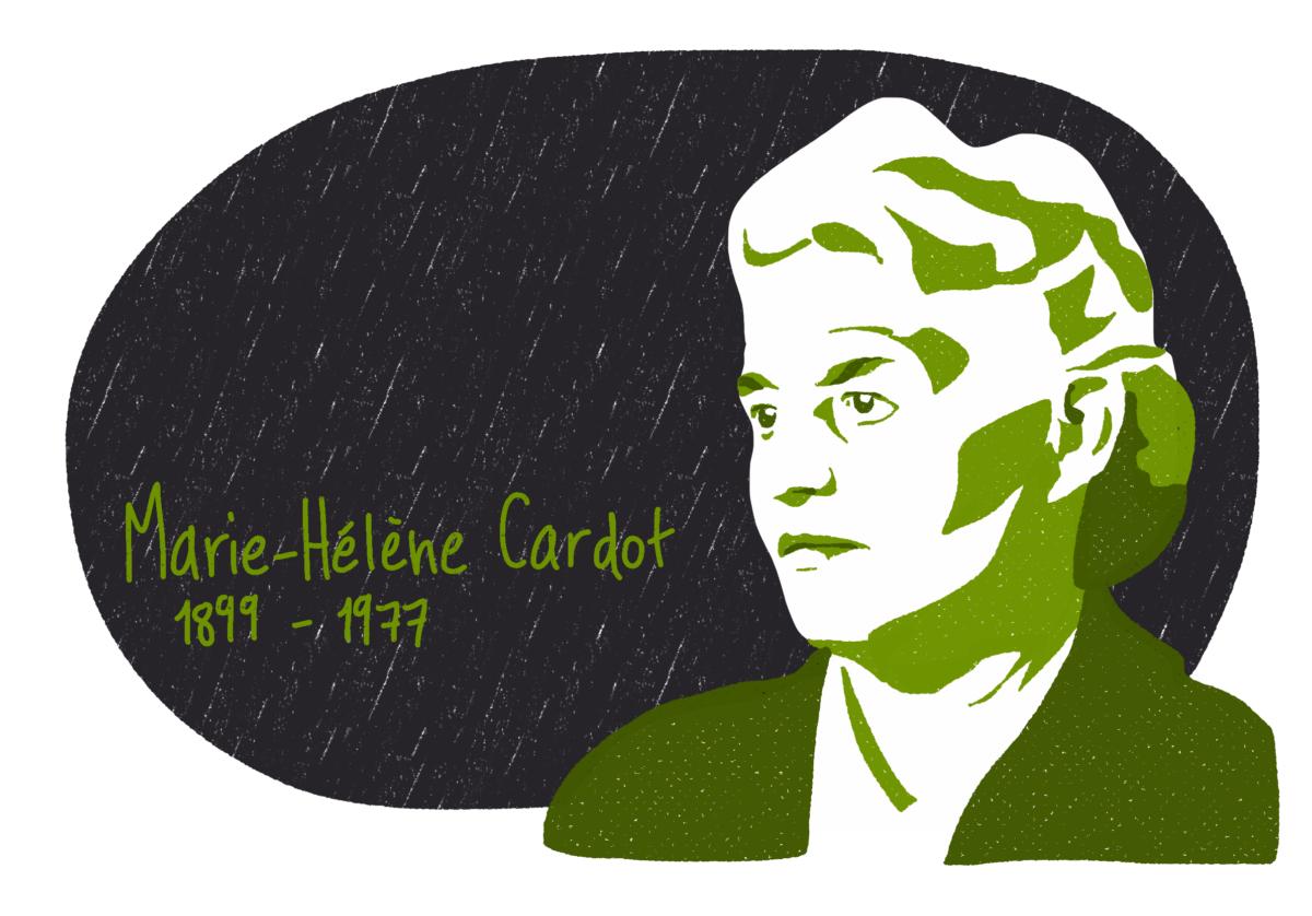 Portrait de Marie-Hélène Cardot, femme de la Résistance
