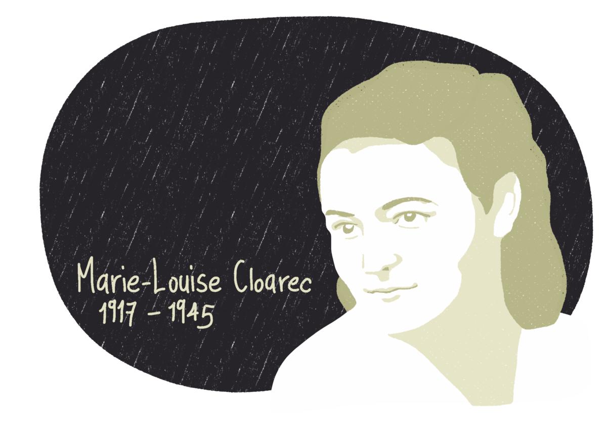 Portrait de Marie-Louise Cloarec, femme de la Résistance