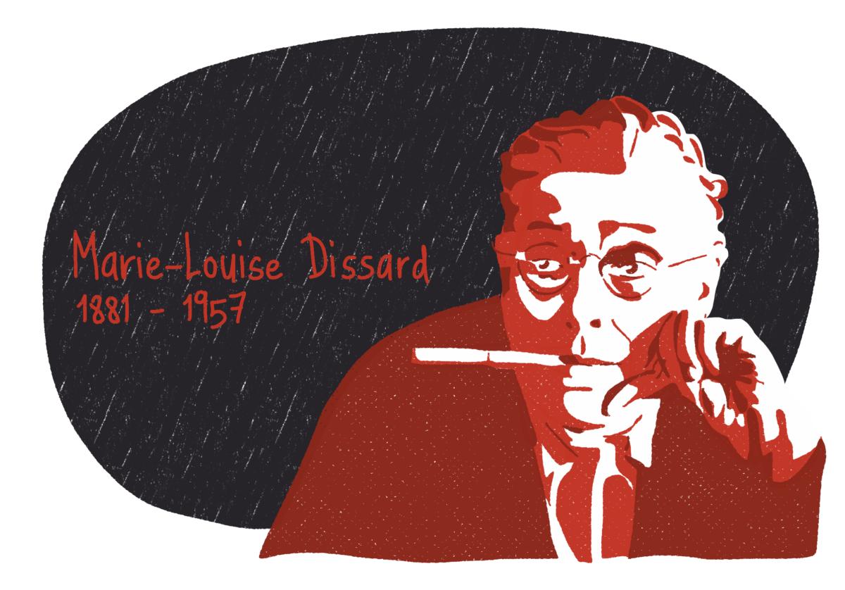 Portrait de Marie-Louise Dissard, femme de la Résistance