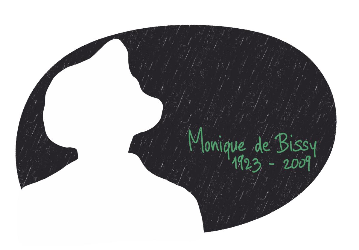 Portrait de Monique de Bissy, femme de la Résistance