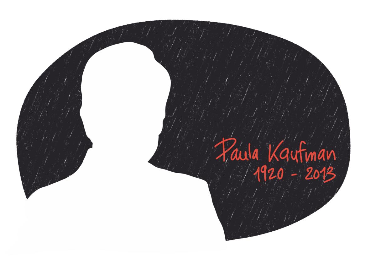 Portrait de Paula Kaufman, femme de la Résistance