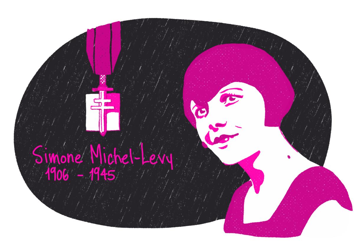 Portrait de Simone Michel-Levy, femme de la Résistance