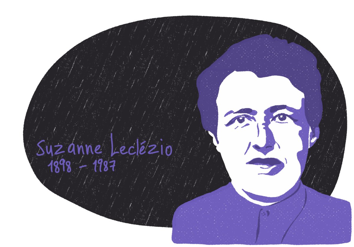 Portrait de Suzanne Leclézio, femme de la Résistance