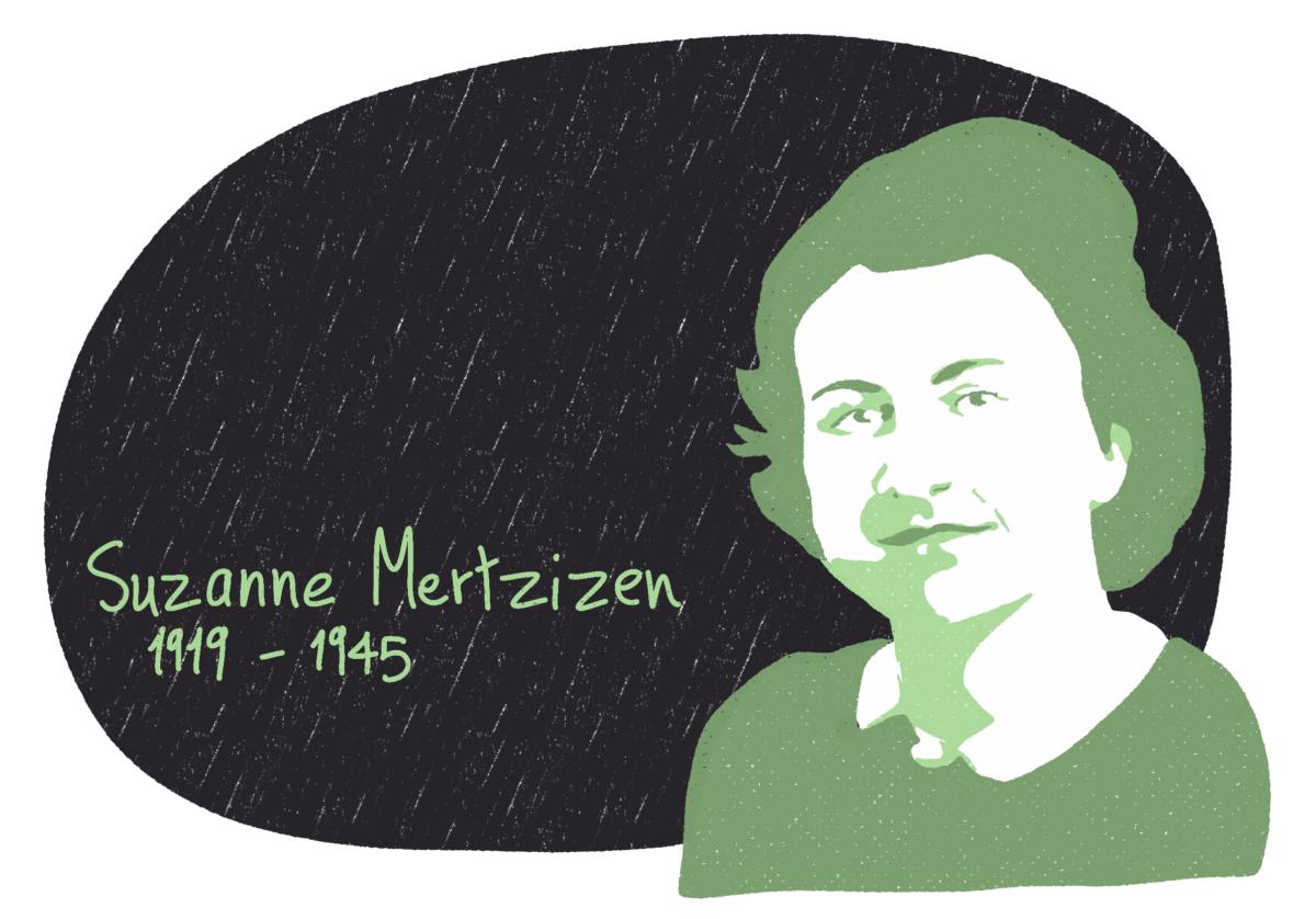 Portrait de Suzanne Mertzizen, femme de la Résistance