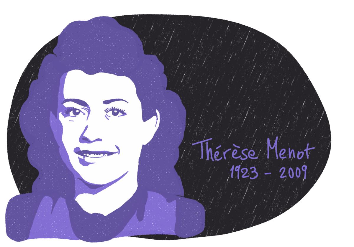 Portrait de Thérèse Menot, femme de la Résistance