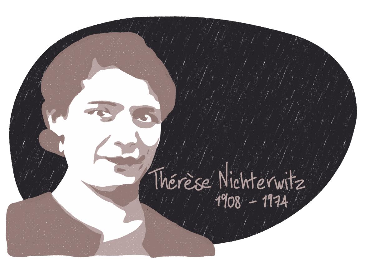 Portrait de Thérèse Nichterwitz, femme de la Résistance