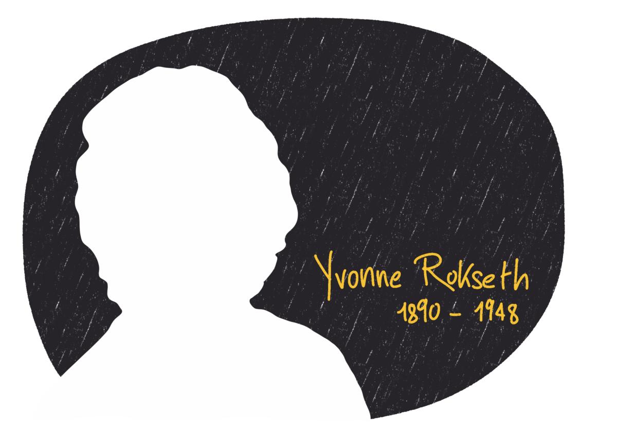 Portrait de Yvonne Rokseth, femme de la Résistance