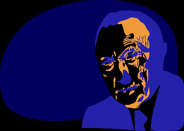 Portrait de Konrad Adenauer