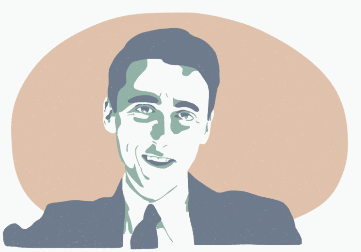 Portrait de Daniel Cordier alias Caracala